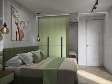Квартира «Квартира Воплощая мечту!», спальня . Фото № 32281, автор Гусева Анна