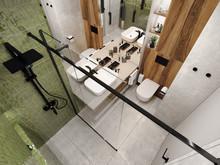 Квартира «Квартира Воплощая мечту!», санузел . Фото № 32278, автор Гусева Анна