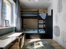 Квартира «Интерьер для супружеской пары с двумя детьми в Новосибирске», детская . Фото № 32284, автор Симагина Ольга