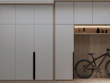 Квартира «Квартира Уютный минимализм!», прихожая . Фото № 32289, автор Гусева Анна