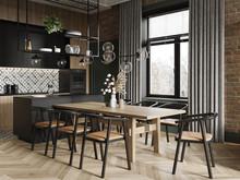 Квартира «-LOFT-», кухня . Фото № 32304, автор Савинов Александр