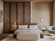 Квартира «Nature contrast», спальня . Фото № 32326, автор Сидорова Маргарита