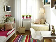 Квартира «», детская . Фото № 3735, автор Калаева Лина, Файнштейн Инна, KF design
