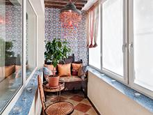 Квартира «», веранда лоджия . Фото № 6381, автор Пунанс Татьяна