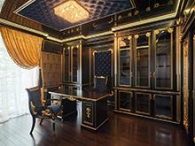 Квартира «», кабинет . Фото № 15206, автор Фарносова Наталья