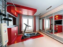 Квартира «», домашний спортзал . Фото № 16455, автор Юдина Валерия