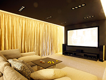 Фото домашний кинотеатр Квартира
