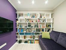 Квартира «», библиотека . Фото № 17163, автор Уютная квартира Наталья,