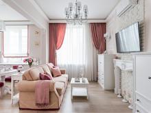 интерьер гостиной, Юркова Cветлана