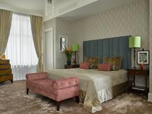 интерьер спальни, Ананьевы  Надежда и Георгий