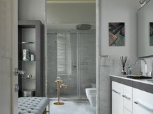 интерьер ванной, Ананьевы  Надежда и Георгий