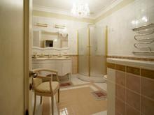 интерьер ванной, Дизайн-бюро Натальи