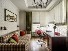 интерьер кабинета, Harmony Interiors