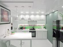 интерьер кухни, TABOORET Interiors Lab