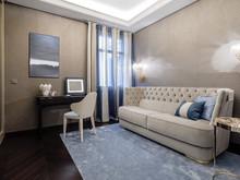 Квартира «Элегантная роскошь. Дизайн интерьера резиденции в Ницце», комната отдыха . Фото № 24571, автор NG-Studio