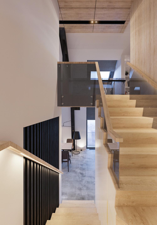 Квартира «Квартира для творческий и позитивных людей.», холл, фото из проекта