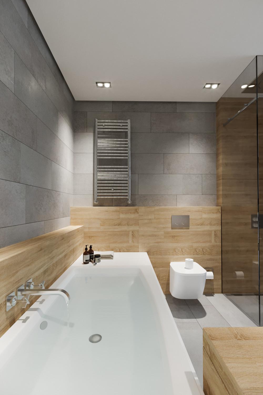Квартира «BW apartment. Место проведения фотосессий и вечеринок.», ванная, фото из проекта