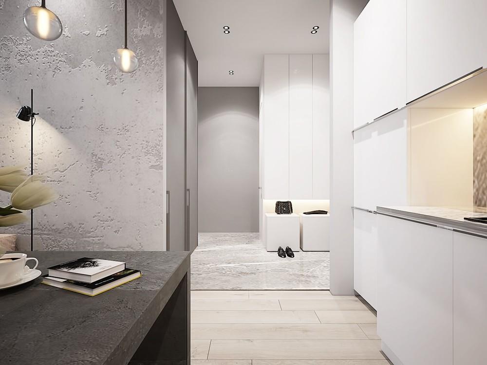 Квартира «ЖК Олимпийская Ривьера Новогорск», гостиная, фото из проекта