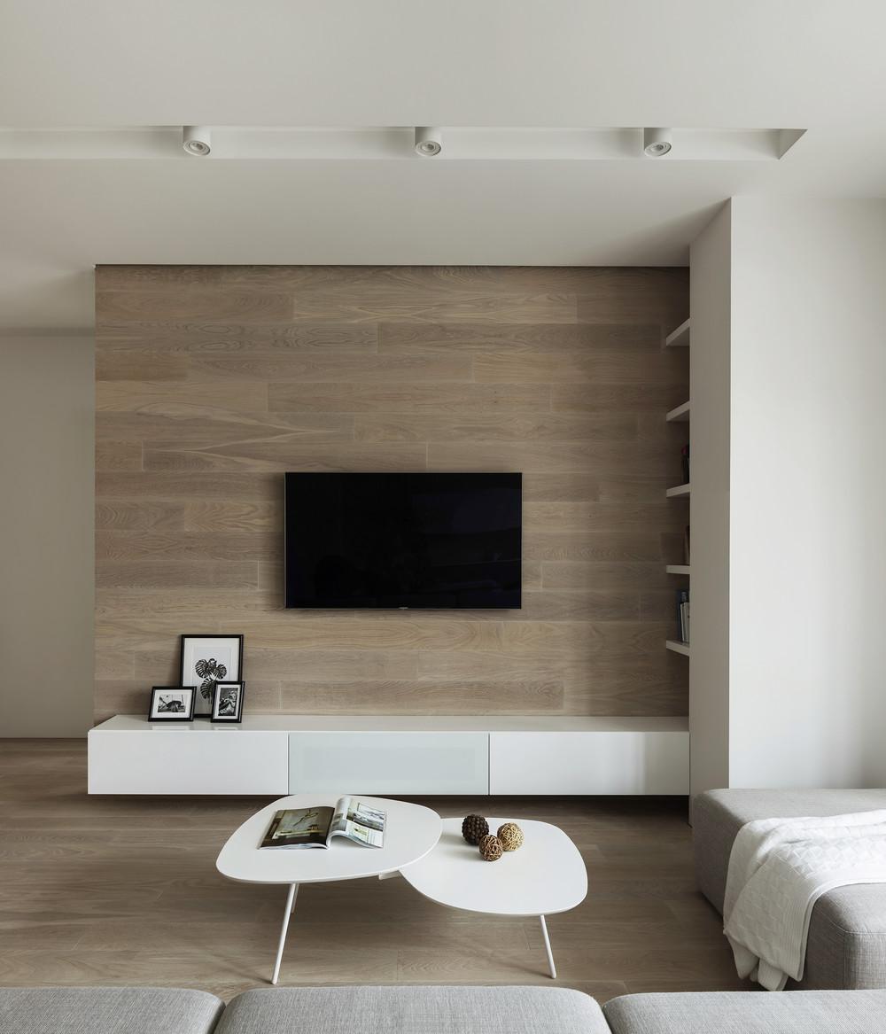 Квартира «ЖК Мичуринский», гостиная, фото из проекта