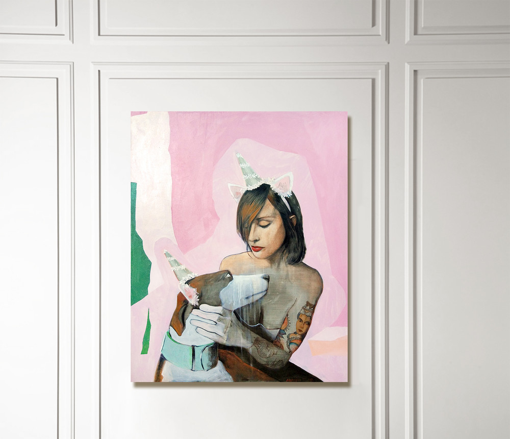 Роспись, живопись «картина в интерьере », роспись живопись, фото из проекта