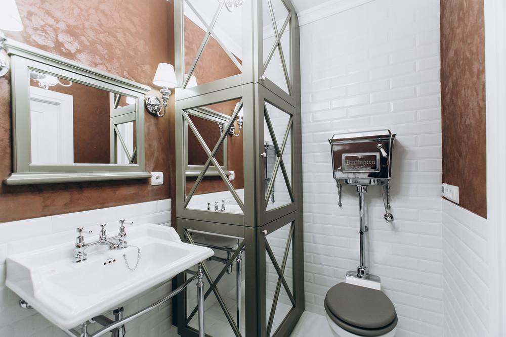 Квартира «Ideal classic», ванная, фото из проекта