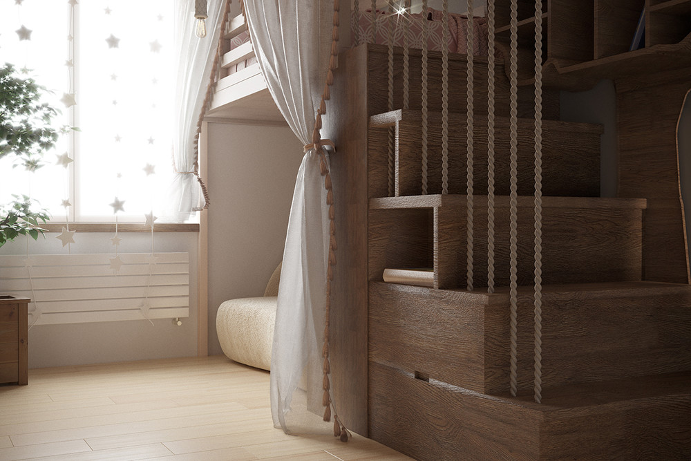 Квартира «Детская», детская, фото из проекта
