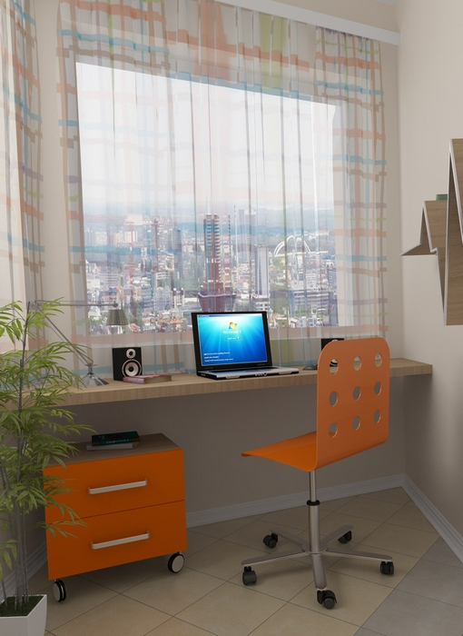 Квартира «», кабинет, фото из проекта