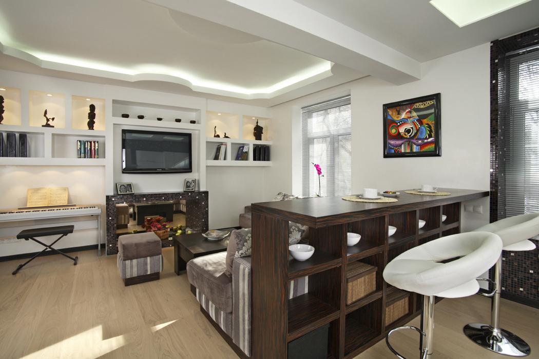 Дизайн барной стойки в квартире