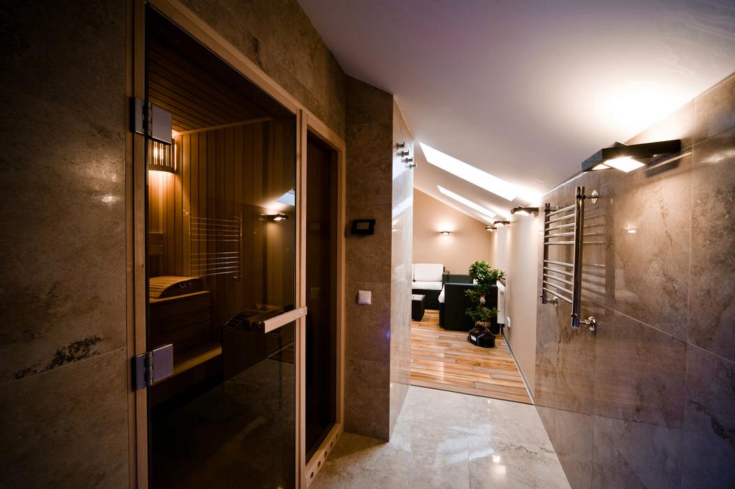 Квартира «», баня сауна, фото из проекта