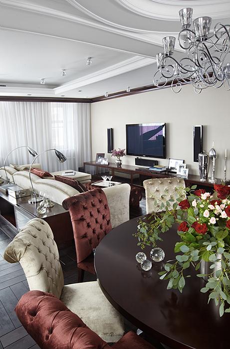 Фото гостиная Квартира