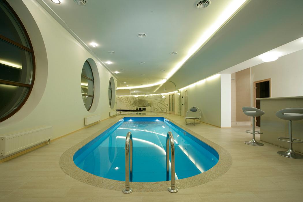 Квартира «», бассейн, фото из проекта