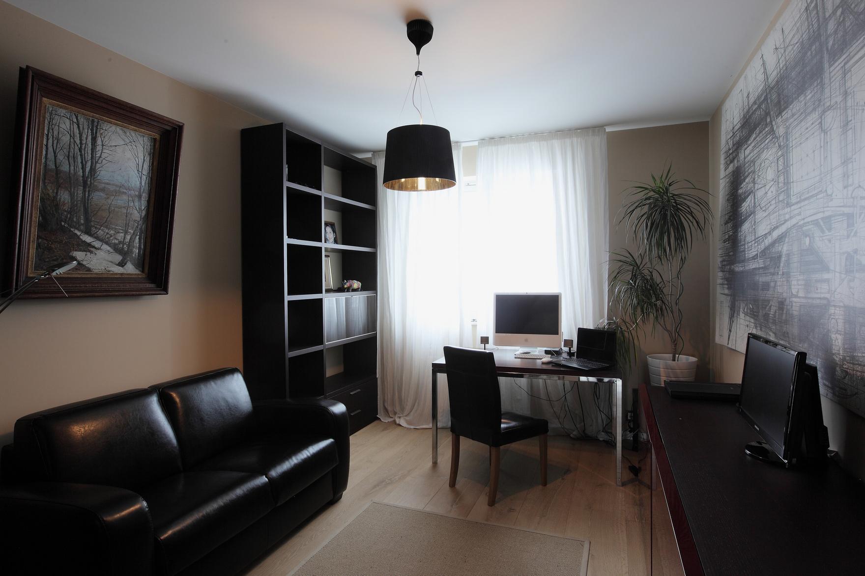 Квартира «Квартира в Москве», кабинет, фото из проекта
