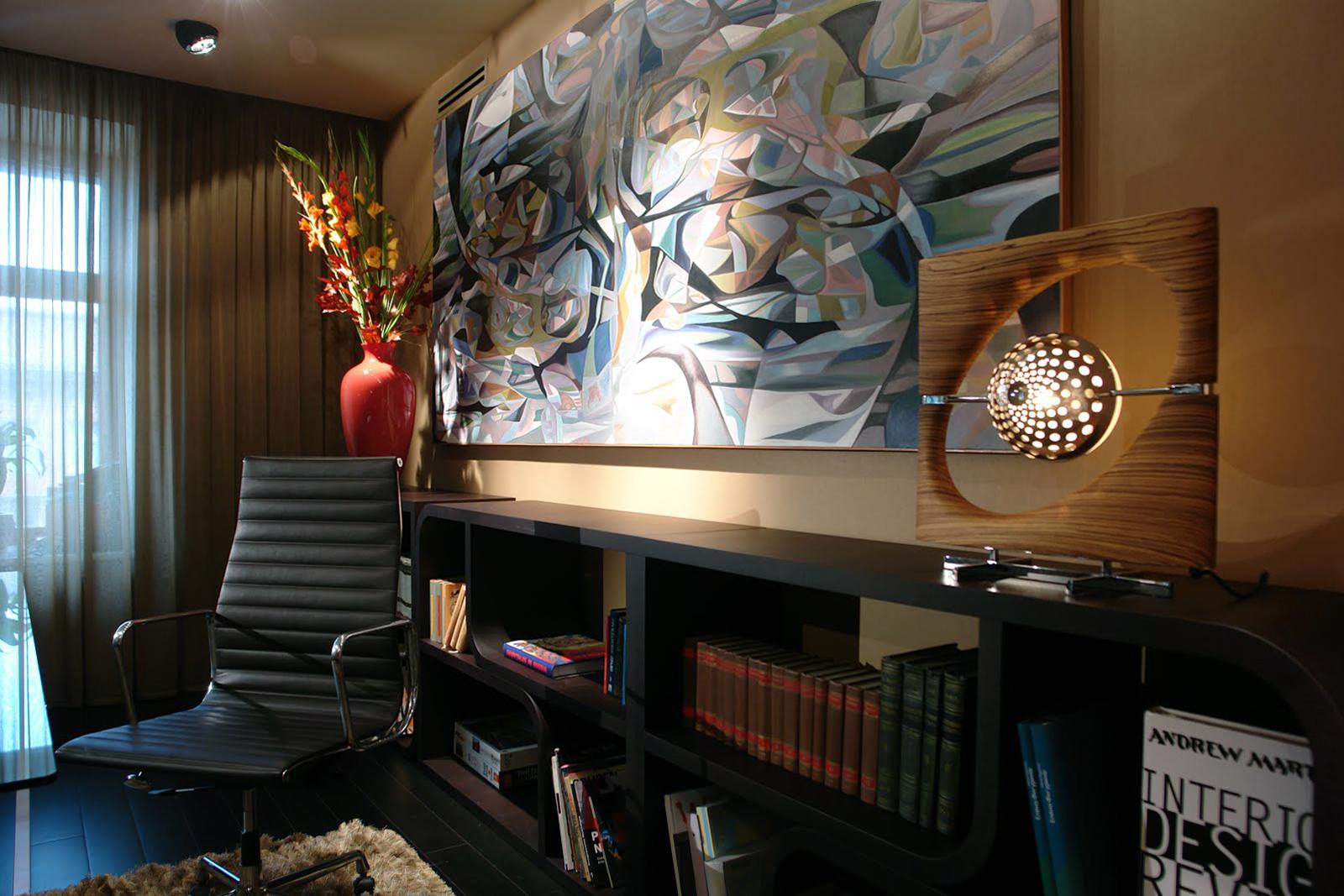 Фото кабинет библиотека Квартира