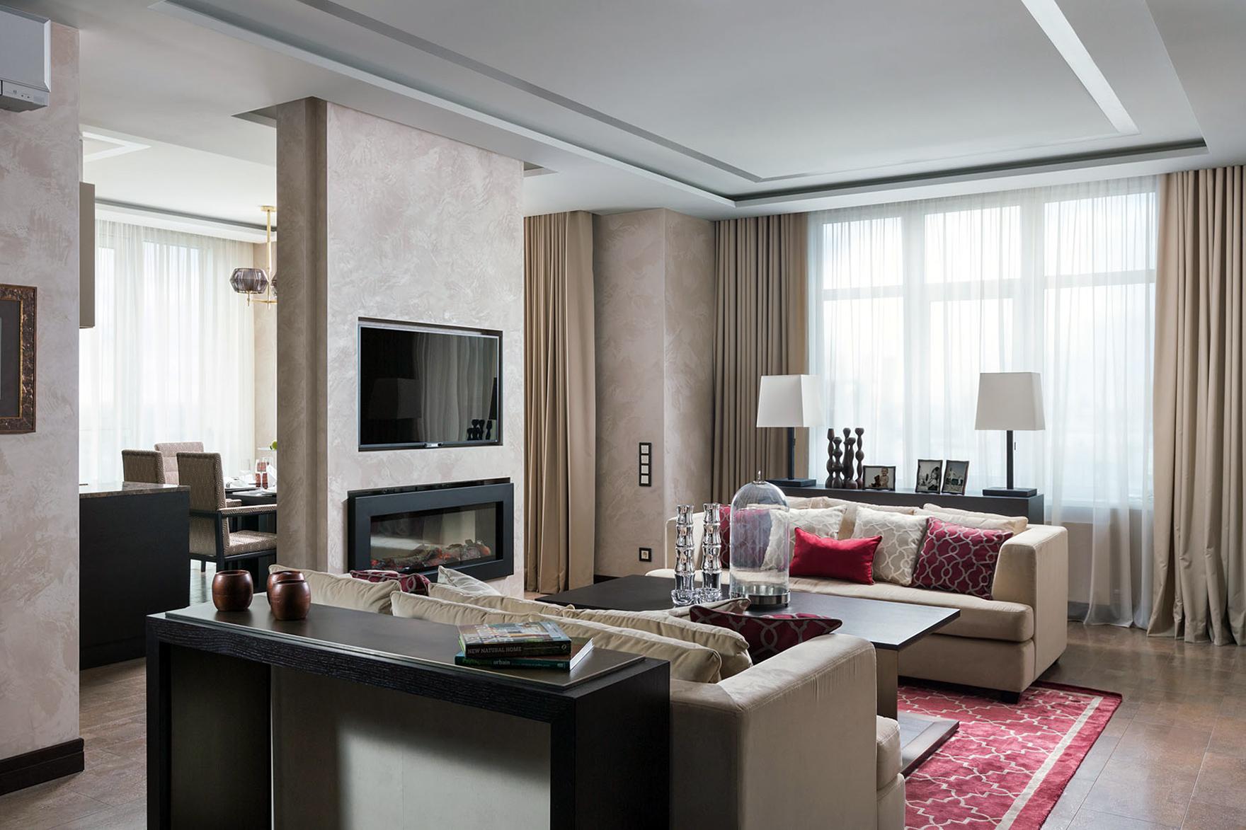 Дизайн г образной квартиры