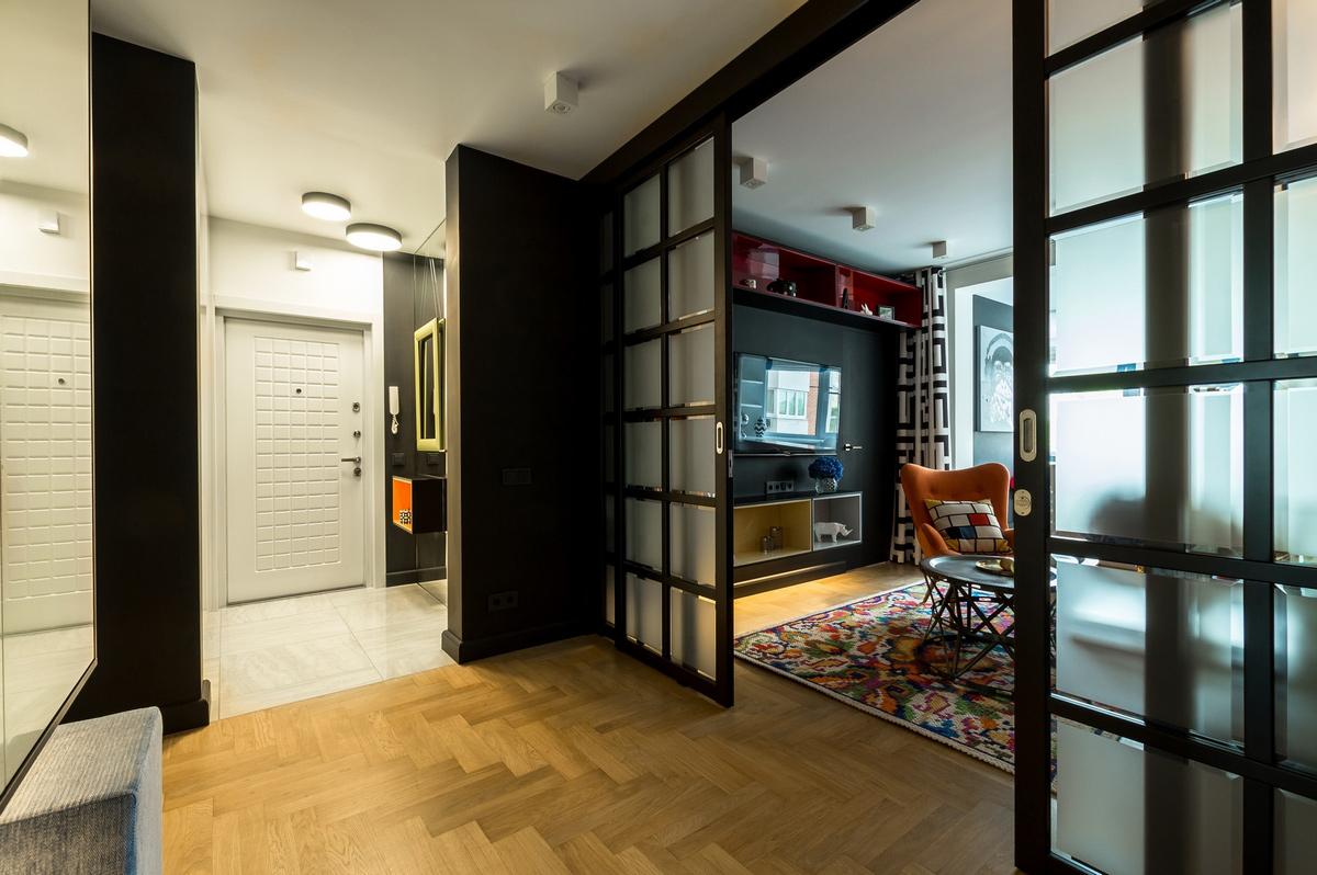 Дизайн проходной гостиной фото