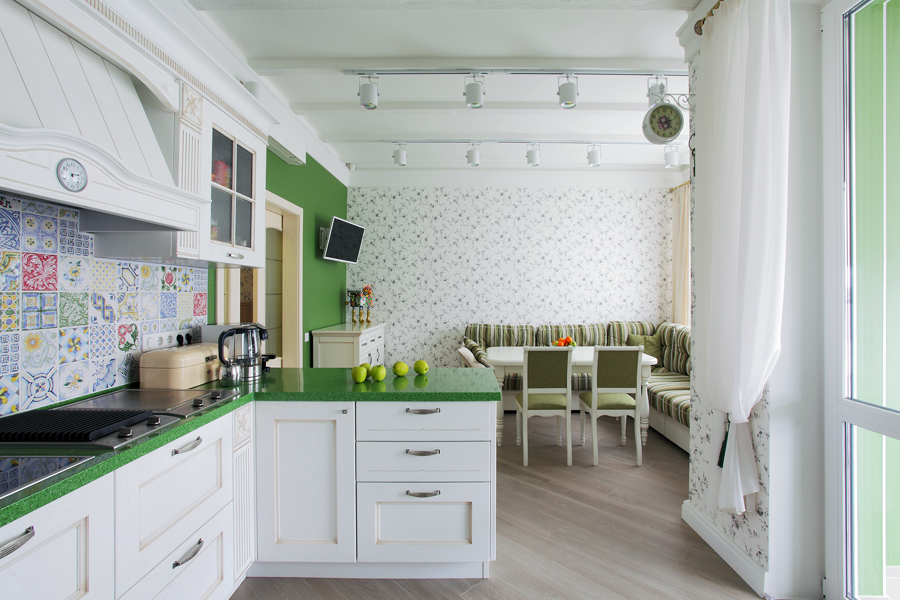 Квартира «», столовая, фото из проекта