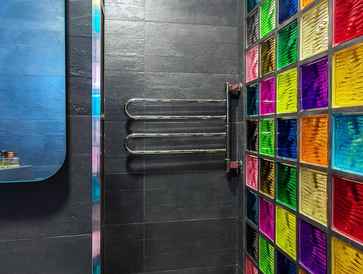 Квартира «Мечта в стиле Лофт», ванная, фото из проекта