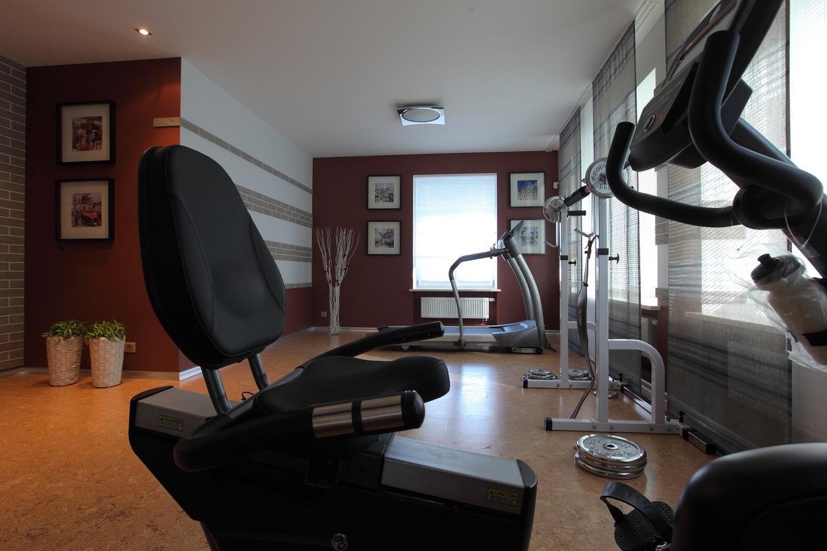 Фото домашний спортзал Квартира