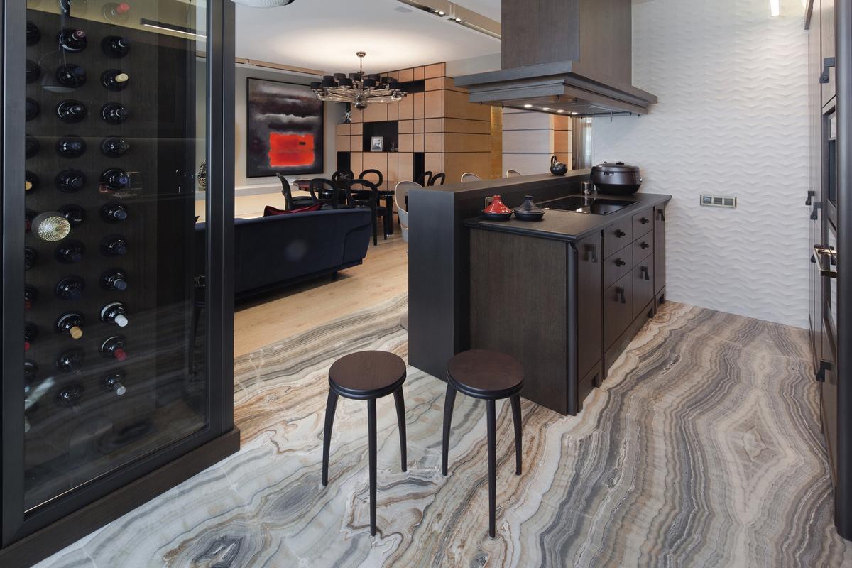 Квартира «Квартира в центре Москвы», кухня, фото из проекта