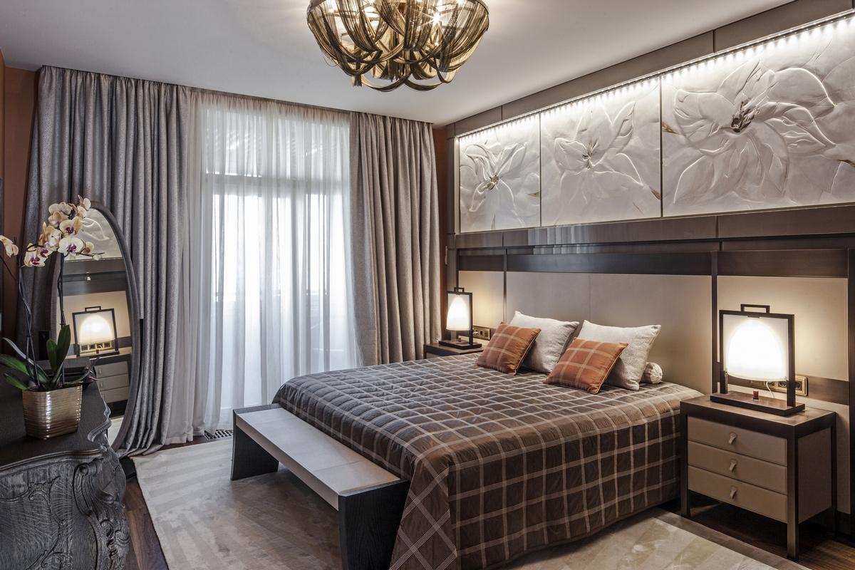 Квартира «Квартира в центре Москвы», спальня, фото из проекта