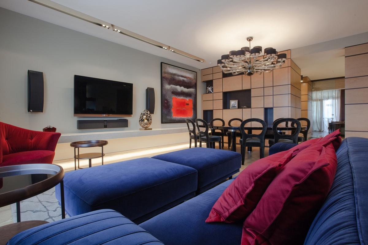 Квартира «Квартира в центре Москвы», гостиная, фото из проекта