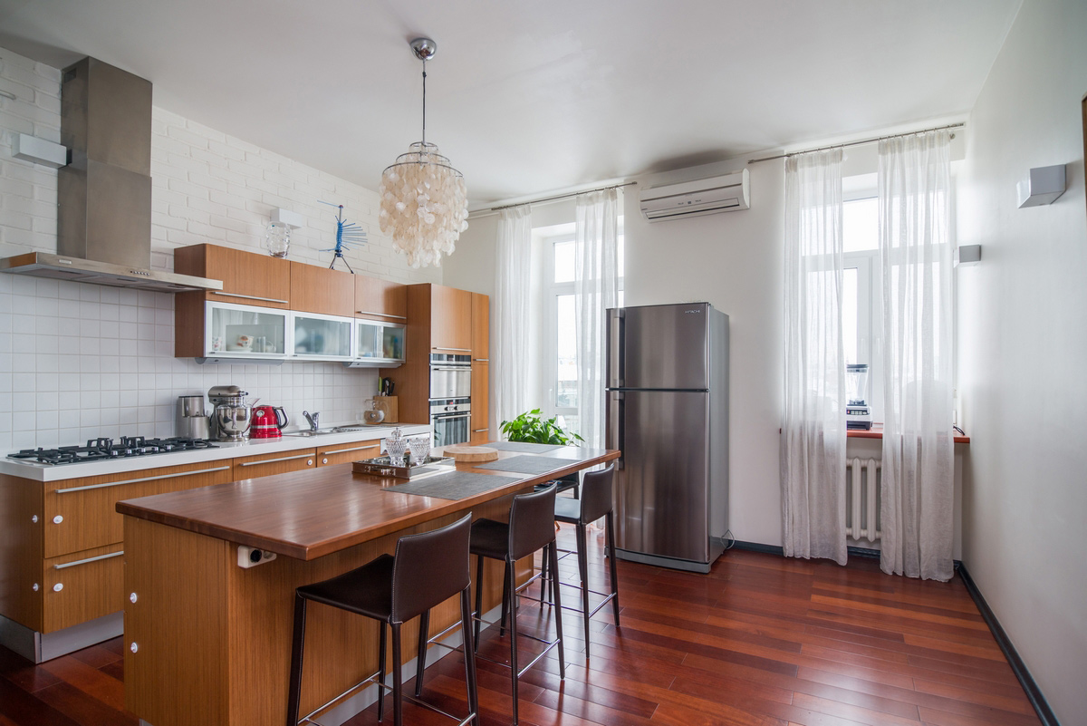Квартира «», кухня, фото из проекта