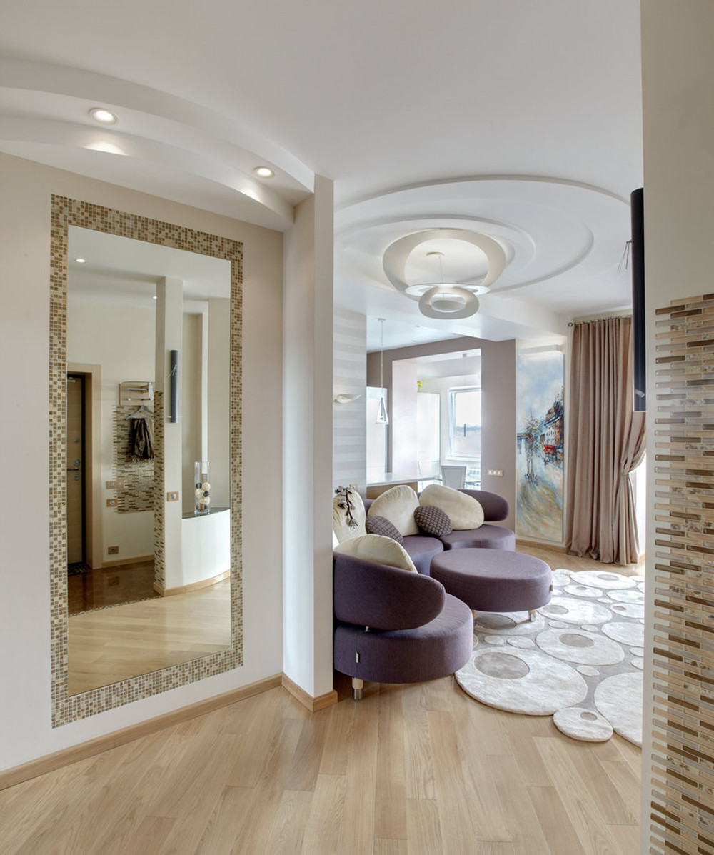Квартира «Ленинский», гостиная, фото из проекта