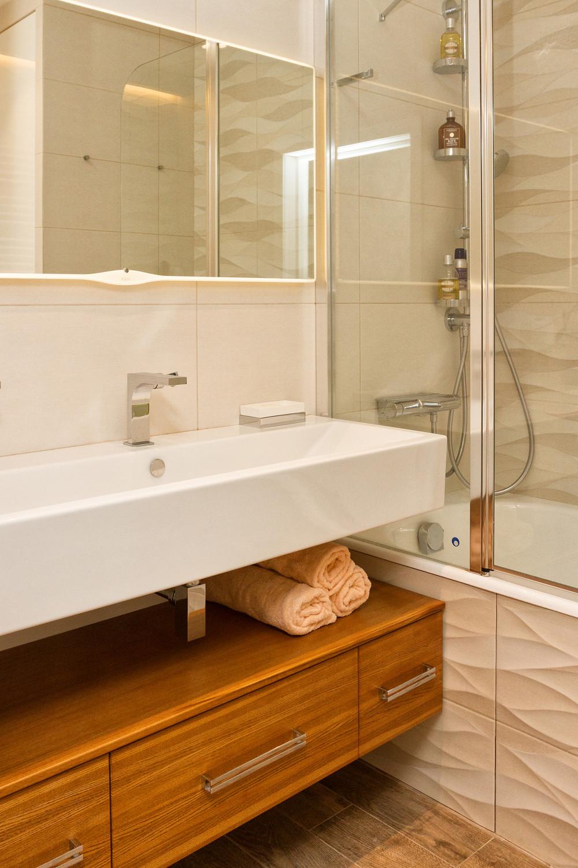 Квартира «Квартира в ЖК Приокский парк», ванная, фото из проекта