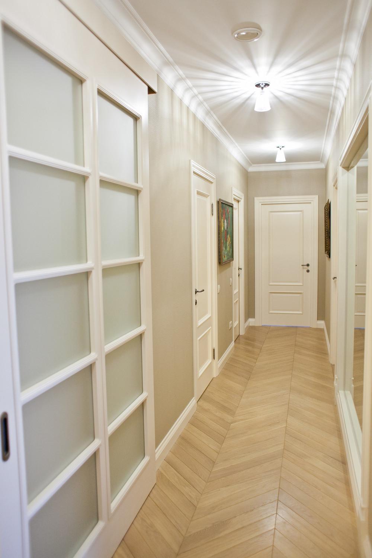 Квартира «Квартира с видом на набережную», коридор, фото из проекта