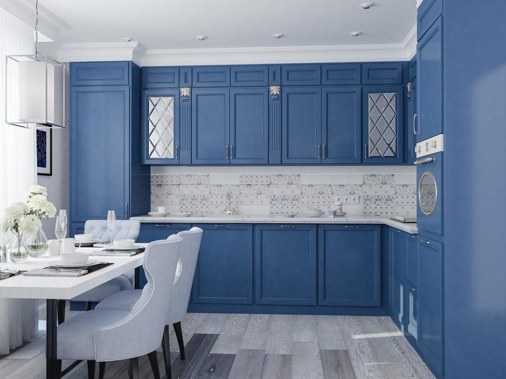 Квартира «ЖК Царская Столица », кухня, фото из проекта