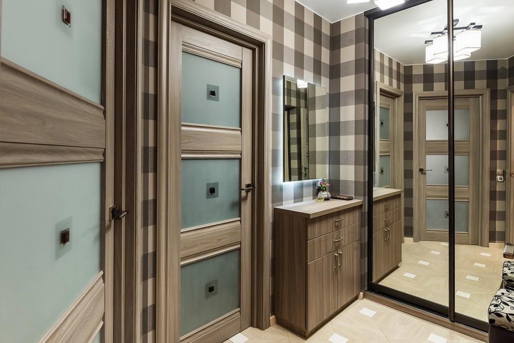 Квартира «Проект квартиры 45 кв.м в стиле», коридор, фото из проекта