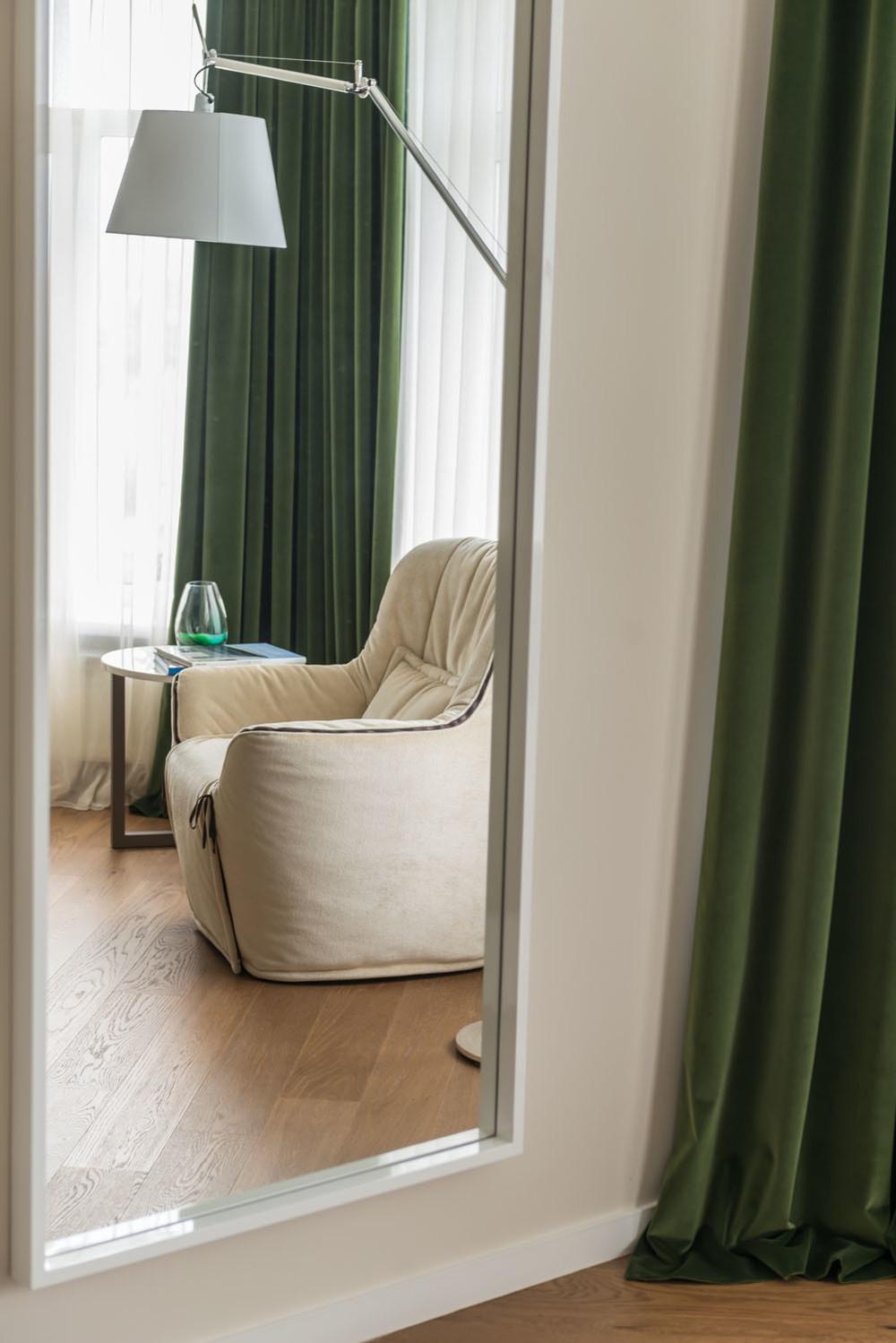 Квартира «Green and Wood», спальня, фото из проекта