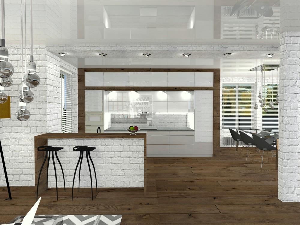 Квартира «Perfectly imperfect.  Скандинавия с чертами минимализма.», гостиная, фото из проекта