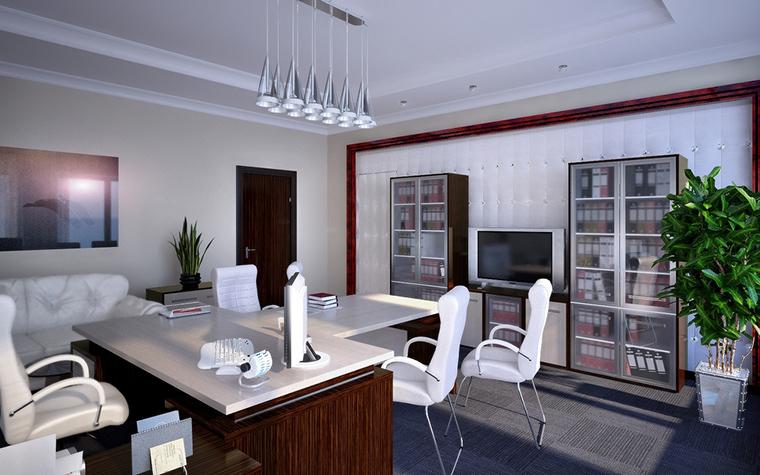 Дизайн офиса. офисы из проекта , фото №7283
